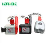 熱い販売法のよく安い買物車の硬貨ロックの安全で及び便利な買物車の硬貨リターンロック