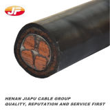 Cable de transmisión subterráneo aislado XLPE de cobre/de aluminio de la base