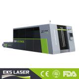 Tube et feuille de coupeur de laser de commande numérique par ordinateur par l'intermédiaire de machine de découpage de laser de fibre