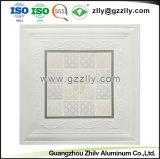 Bâtiment du Conseil de décoration ignifugé matériau aluminium clip-in plafond avec la norme ISO9001