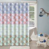 China ODM alimenta a cortina do chuveiro com design de impressão personalizado