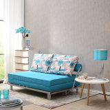 Специальная кровать софы ткани Functinal для живущий комнаты