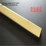 Final inoxidable del espejo del ajuste del borde del azulejo 304 del oro 316 hecho en China