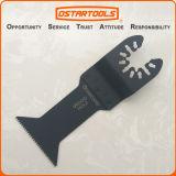 a liberação rápida de oscilação de 45mm (1-3/4 '') Hcs Multitool considerou a lâmina