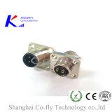 M12 정연한 플랜지 소켓 연결관 2 3 4 5 6 8 12 17pin 연결관 5 핀 커넥터