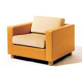 Sofà sezionale di ricezione dell'ufficio della mobilia moderna con riempimento allentato