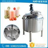 Les mesures sanitaires de boissons en acier inoxydable cuve de mélange de chauffage électrique