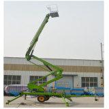 10 zetten de meters van de Hydraulische Aanhangwagen de Lift van de Mens van de Boom met Ce op