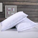 100% poliéster hipoalergénica abajo cama de plumas almohadas almohadas de plumas