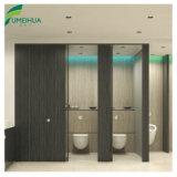 Weiße Tür der Farben-Toiletten-Partition-HPL mit Nylonbefestigungsteilen