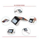 Beweglicher androider beweglicher WiFi 4G NFC Leser einteiliges Positions-Zahlungs-Terminal für Einzelverkäufe PT7003