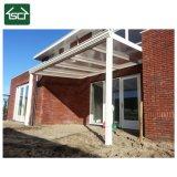 Couverture du patio Ral9016 avec la feuille de polycarbonate et le toit de pente