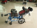 Aluminiumlegierung-zerebrale Lähmung-justierbarer Rollstuhl