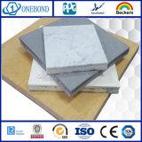 Comitato decorativo di alluminio di pietra del favo per il rivestimento della parete esterna