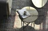 둥근 고대 방법을 복구하는 유럽 유형은 한다 오래된 간단한 형식을, 단철 거실 토론한다 소파 탁자, 단단한 나무 탁자 (M-X3411)를