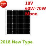 18V 60W-70Wのモノラル太陽モジュール(2018年)