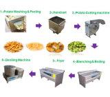 Chaîne de fabrication fraîche de pommes chips à échelle réduite