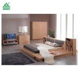 나무로 되는 현대 침대 호화스러운 작풍 침실 침대