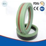 Rubber Gevulde PTFE, Glas, Koolstof v-Inpakt Hydraulische RubberVerbindingen