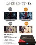 La última versión de Android 6.0 TV Box E8 Kodi 16.0 o la versión más reciente Decodificador.