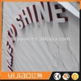 Alta muestra ligera impermeable del acrílico LED Frontlit