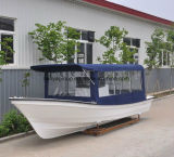 Liya 7.6m Kleine Boten van de Glasvezel van de Luxe van Jachten voor Visserij