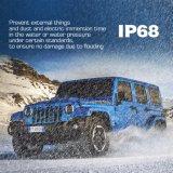 Hoogste Kwaliteit IP68 24volt Engel Ogen 7 LEIDENE van de Duim Koplamp om de Koplamp van de Jeep