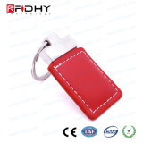 Wireless T5577 Leather RFID Smart key day ACCESS control Keyfob