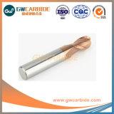 Fabricant d'acier solide HRC 60 Fin de carbure de tungstène Mill