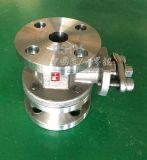 Aço inoxidável forjado porta completa 2PC Válvula de Esfera de Flange