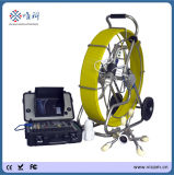 120m Push Rod Pan and Tilt Sewer drain beeps to Inspection Camera with meters of Counter