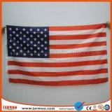 90X150см полный мир цвета флага с проушинами