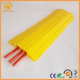Желтую крышку одного метра 3 канала PVC кабель пола уменьшается