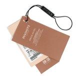 Etiqueta bien diseñada modificada para requisitos particulares necesidad de la caída del diseño de los zapatos/ropa/bolsos/joyería