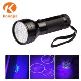51 Fackel-Lampen-UVurin-Detektor-Taschenlampe des LED-purpurrote Licht-395nm Blacklight
