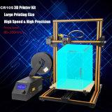 Stampante CR-10S di stampa 2018 la più nuova 3D si raddoppia Z Rod, filamenti che riflettono la stampante da tavolino 3D Cr10s del kit dell'allarme DIY