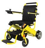 Sillón de ruedas plegable ligero de la energía eléctrica del cuidado casero para los minusválidos