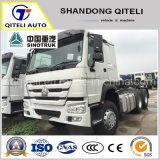 371HP 6X4 Sinotruk HOWO грузового прицепа для тяжелого режима работы трактора головки блока цилиндров 10 шины трактора погрузчик для Африки