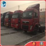 cabeça usada 2015y chinesa do caminhão de 6X4 Delong para a venda