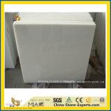 부엌을%s Thassos 자연적인 Polished 수정같은 백색 돌 대리석 또는 목욕탕 또는 벽 또는 마루 또는 단계 또는 도와 또는 클래딩