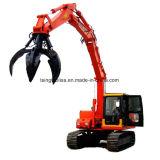 Aufbau-Maschinerie-Kran mit Aufzug-Stahlzupacken auf Verkauf