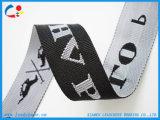 """2"""" de ancho, con el logotipo personalizado poliéster bolsa de tejido Jacquard"""