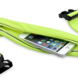 ウエストバッグ、LEDの再充電可能な連続したベルト、iPhone X/8/7/6のための防水袋を実行するスポーツ