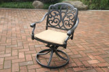 Klassischer Garten-im Freienschwenker-Segelflugzeug-Stuhl-Möbel