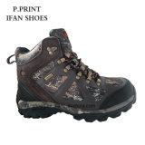 Neuer wandernder Schuh-Entwurf für Männer mit Tarnung-Gewebe