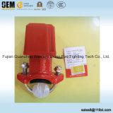 消火システムのための水流の探知器