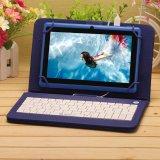 """Kern 16GB 1024*600 HD van de Vierling van PC Allwinner van 6.0 Tablet van de Tablet van Expro van Irulu X3 7 de """" Androïde A33 met de Blauwe Engelse Steun WiFi Tableta van het Toetsenbord"""