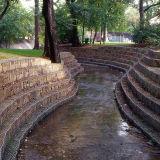 Стена Gabion сезонного изготовления Китая рабата сохраняя (GRW)