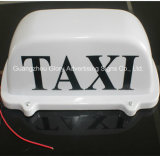 Het LEIDENE Hoogste Teken van de Cabine/het Openlucht Hoogste Teken van de Taxi van de Reclame