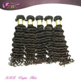 급료 7A Unprocessed Deep Wave Hair Virgin 브라질 Human Hair